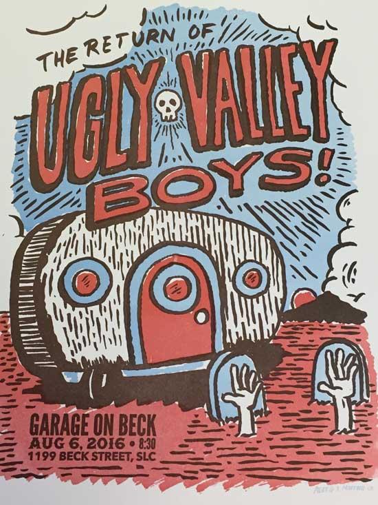 UglyValleyBoys August 6th 2016, The Garage, Salt Lake City, Utah